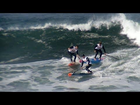 Ocean Beach Heavy Water 2017 - SUP Surfing