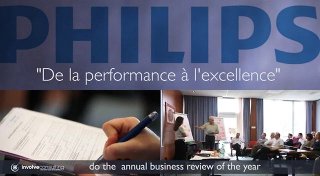 Example of Appreciative Inquiry in business: Un bilan annuel de Philips basé sur les forces de l'organisation