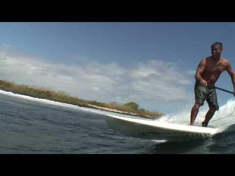 Paddle Surfing the Galapagos--Espiritu Libre