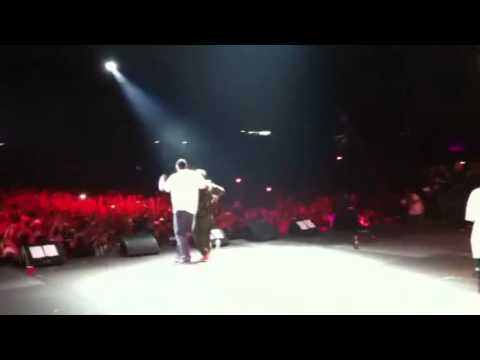 @Nas Brings Out @RonArtest for Memory Lane at Rock the Bells