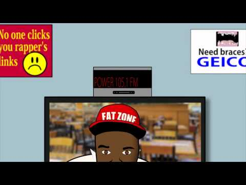 #LMAOOFTHEDAY : Fabolous vs Ray J Fight (Fabolous Teeth) CARTOON PARODY