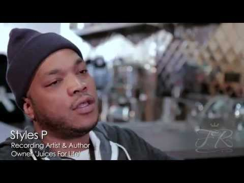 Styles P Talks about the benefits of working-out and having a healthy lifestyle.