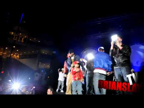 9 YR Old Lil Poopy on Tour wit French Montana Flocka Ross Meek & Wale