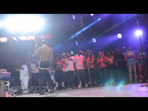 "Big Sean, Pusha T, and 2 Chainz Perform ""Mercy"" at Hot97 Summerjam '12"