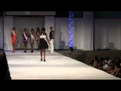 Miss Teen Bermuda At City of Hamilton's Evolution Fashion Show, July 7 2012