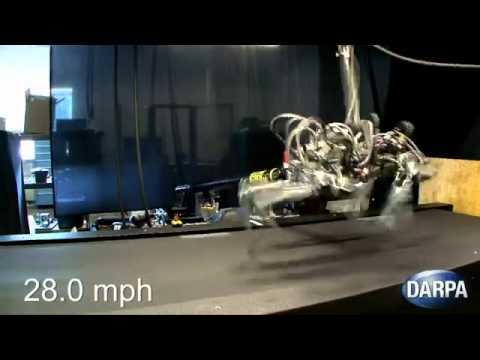 Military Robot Can Run Faster Than Usain Bolt (28 MPH) Will Track You Down