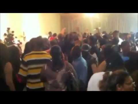 Funeral Home Cleared During 16 Year Old Chicago Rapper Lil JoJo's Funeral Service (Casket Nearly Knocked Over )
