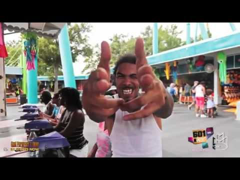 Gunplay's Adventure At Six Flags Theme Park LMAOOO