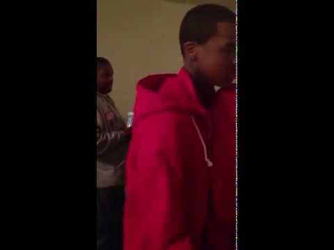 LIL REESE FROM GBE STOMPS GIRL OUT!!!