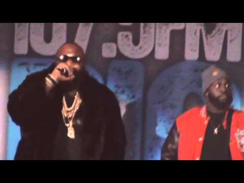 Rick Ross Performs Live At Chicago Big Jam 2012