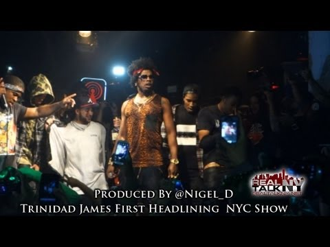 Trinidad James Headlines His First NYC Show (Performs All Gold)