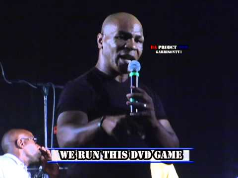 2012 MIKE TYSON BROWNSVILLE HALL OF FAME PRODUCT DVD