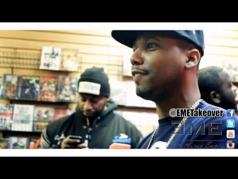 "Juelz Santana ""God Will'n"" Mixtape Signing and Interview in New York City"