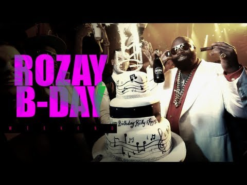 Rick Ross 2013 Birthday Weekend (Celebrates at Compound & LIV) #BoxChevy