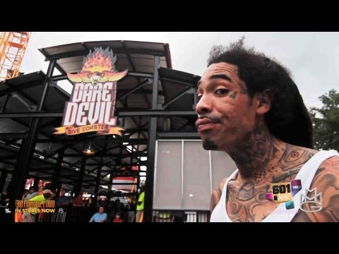**Why They Let Him In LOL** Gunplay - @ Six Flags