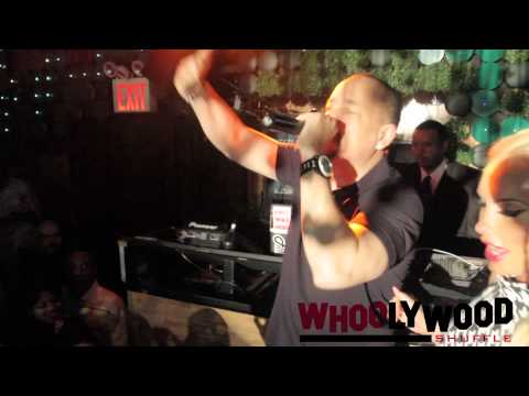 ICE T performs at COCO's Birthday at GREENHOUSE NYC music by DJ WHOO KID with FLAT FITTY