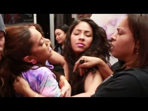 'Love & Hip Hop' Star -- HUGE CHICK FIGHT ... Caught on Tape