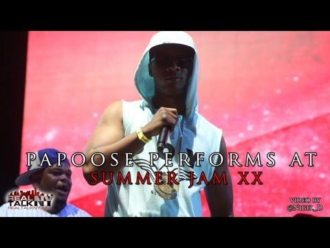 Video: Papoose Makes A Surprise Appearance At Summer Jam XX