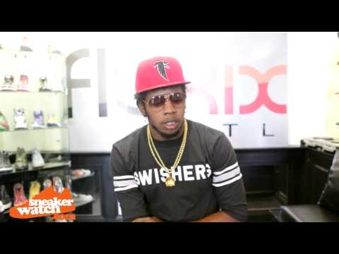 #SneakerWatch : Trinidad James On Not Having More Than 1000 Shoes