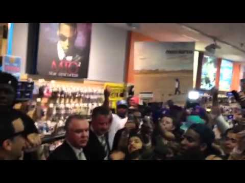 @FRENCHMONTANA PERFORMS @ FYE IN THE BRONX CHANNEL 12