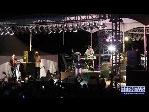 Alison Hinds & Shabba Ranks Live Performance At Cup Match Salute in Bermuda