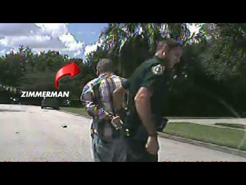 Get Out Of The Car,Hands On Your Head Now Get On Your Knees !! George Zimmerman HANDCUFFED - Dashcam Footage