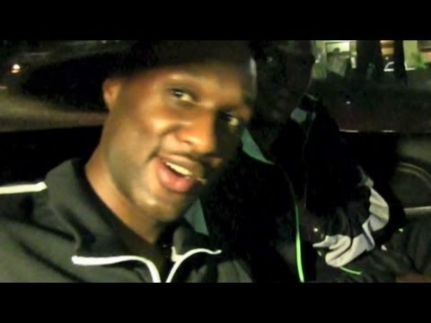 Lamar Odom Denies Smoking Crack ! (Footage)
