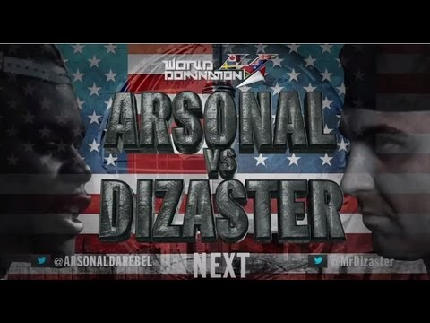 KOTD  Dizaster vs Arsonal (Full Battle)
