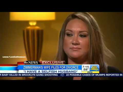 Shellie Zimmerman ,George Zimmerman's Wife Files For Divorce