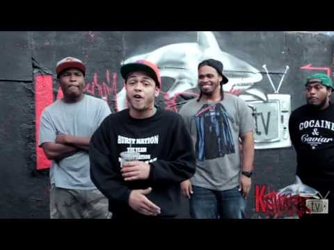KsharkTV 2013 Cypher - feat. Chris Rivers, ANTMAN, DNA, Whispers, & 40CAL
