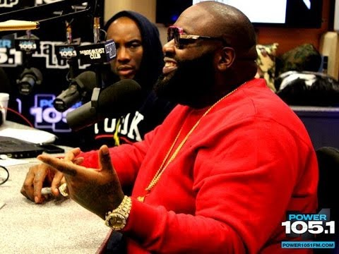 Interview With Rick Ross At The Breakfast Club  PT.2 Speaks on rising during the 50cent beef
