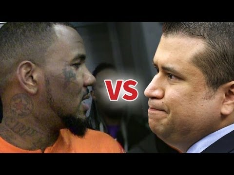 George Zimmerman VS  The Game In A Boxing Match ???
