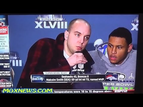 Did You See This ?? Man Interrupts Superbowl Press Conference And Says 9/11 Was Done By Government