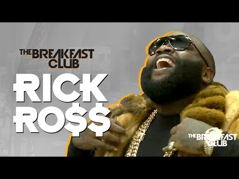 Rick Ross Speaks on 50 Cent Trying to expose him addresses gay rumors + More ""