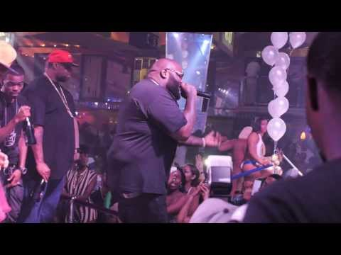 """Rick Ross """"Mastermind"""" album release party @ King Of Diamonds"""