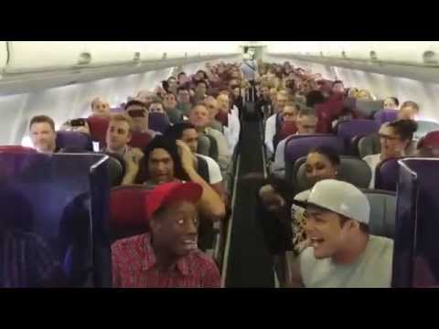 Togetherness : THE LION KING Australia: Cast Sings Circle of Life on Flight Home from Brisbane
