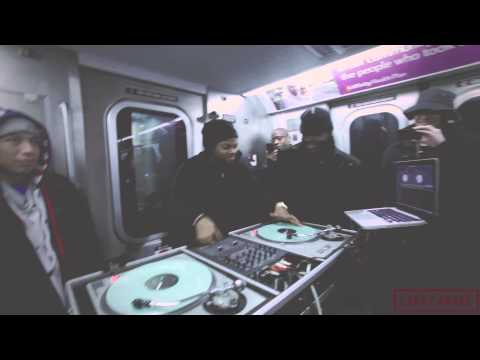 Dope : TJ Mizell (Jam Master Jay's Son )Plays A  Jay Z Set Live On The J Train to Marcy (Official Video)