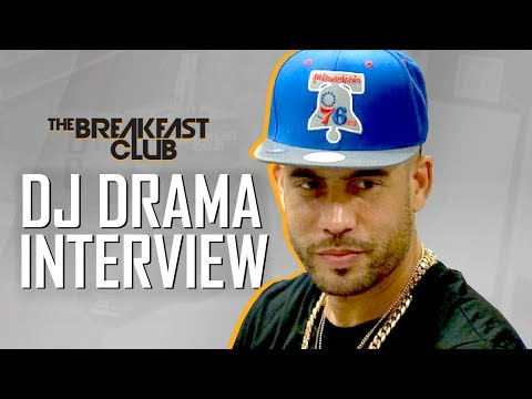 DJ Drama Interview at The Breakfast Club . Mixtape With Drake? Dj Envy Beef With Him & More