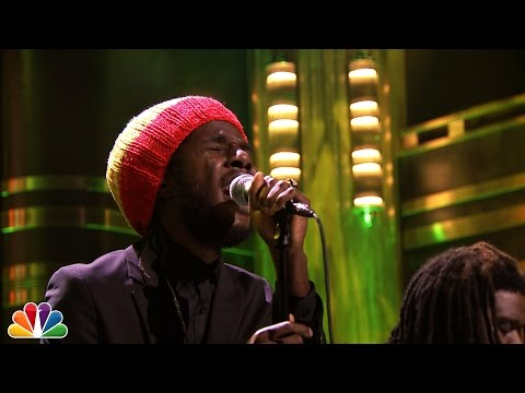 "Chronixx Performing ""Here Comes Trouble"" Live On The Jimmy Fallon Show"