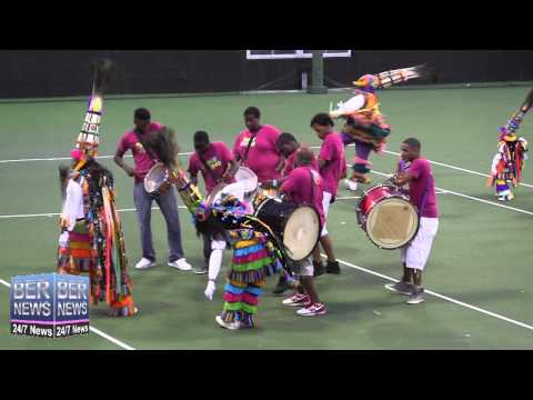 Gombey Warriors Performance At The Annual  Gombey Festival, September 13 2014 #BERMUDA