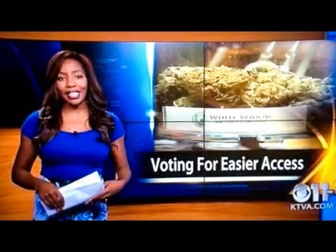 F*ck It I Quit :  Reporter quits on-air, reveals herself as owner of Alaska Cannabis Club
