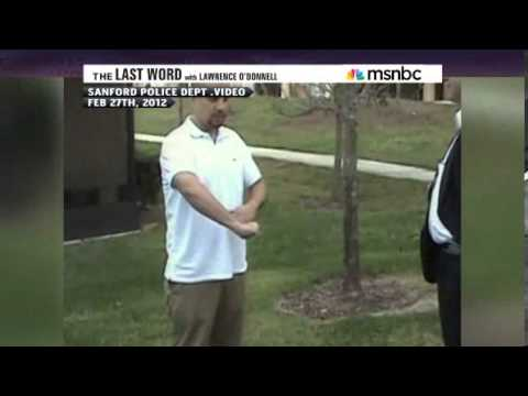 George Zimmerman's Videotape Reenactment of Him Killing Trayvon Martin (1/2)
