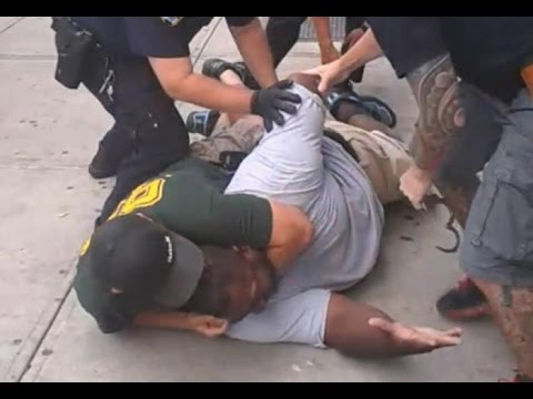 Eric Garner KILLED After NYPD Cop Puts Him In CHOKEHOLD For Breaking Up a FIGHT (Revisited)