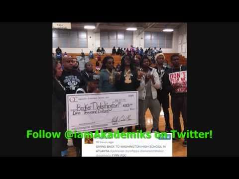 Migos Donate $1000 to High School in Atlanta.& Get Roasted