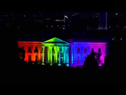 White House lights up after gay marriage ruling