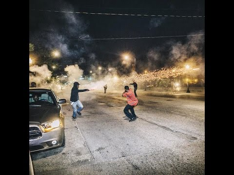 Chiraq Savages Have Scrimmage Gang Shoot Out with Roman Candles.
