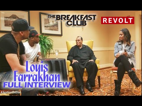 Louis Farrakhan Interview  FULL HOUR (Speaks On Investing In Real Estate,Racism ETC