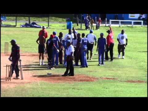 Up To Bat : Cricket Match Turns To Brawl Between Players