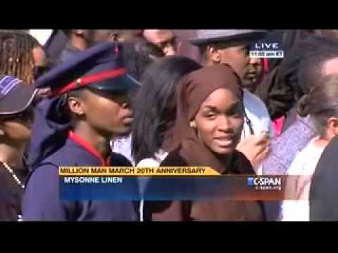 "Mysonne ""Justice or Else"" Speech at the 20th Anniversary of the Million Man March"