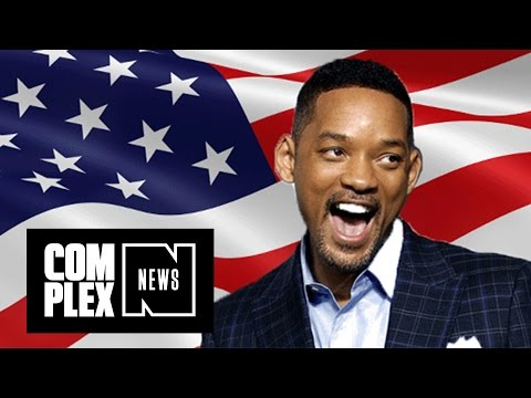"""Will Smith Says Donald Trump Might """"Force"""" Him to Run for President"""
